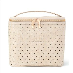 NEW Kate Spade Canvas Out To Lunch Tote